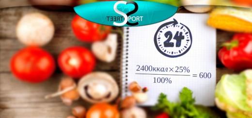 суточная потребность калорий