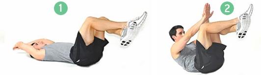 3-Скручивания-с-приподнятыми-ногами