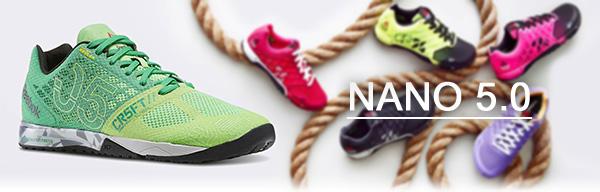 Легендарные NANO кроссовки для Кроссфита от Рибок